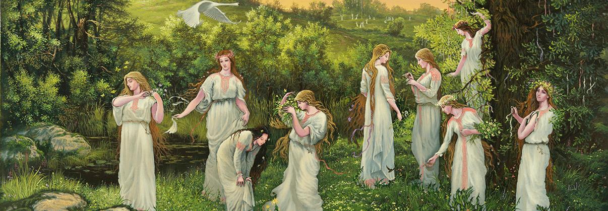 Женское предназначение через образы славянских Богинь